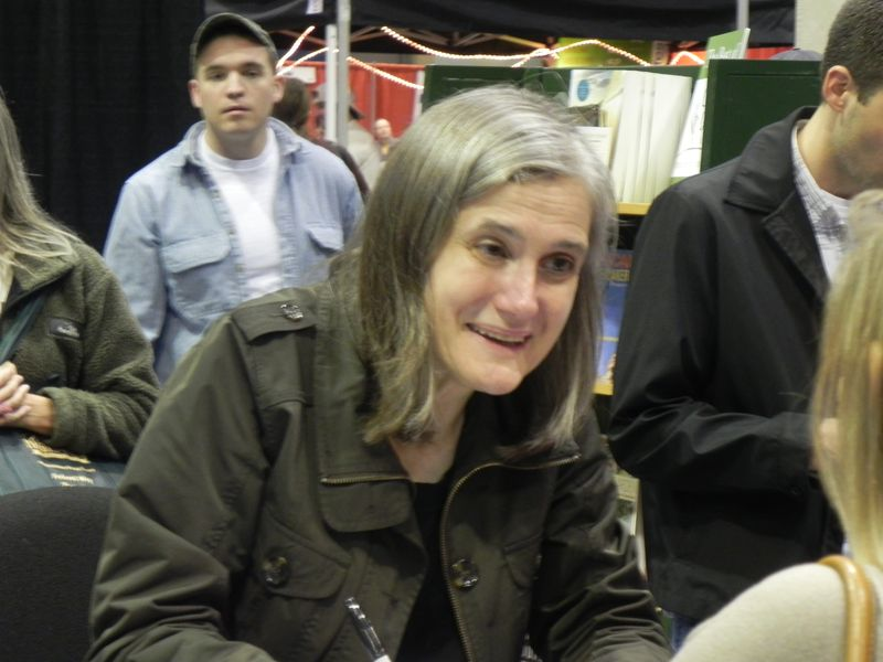 Amy goodman closeup