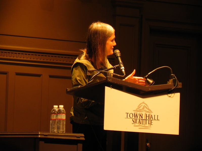 Amy goodman town hall seattle
