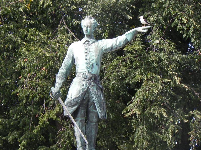Sweden statue