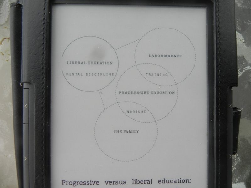 Progressive v. liberal education