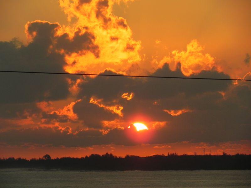 Sunrise december