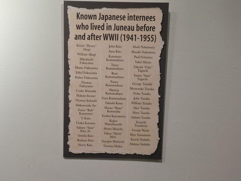 Juneau internees