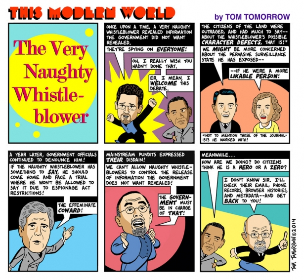 Tom tomorrow snowden