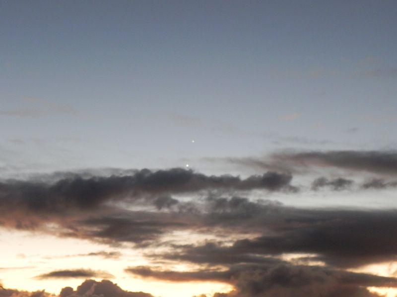 Jupiter & venus at dawn