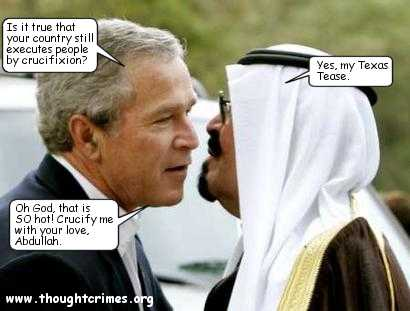 Bush saudi prince
