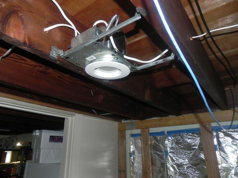 Lamp recessed