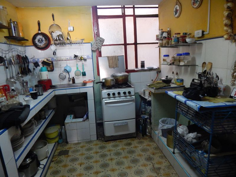 Kitchen in hip hop coop