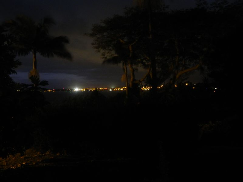 Night view hilo town
