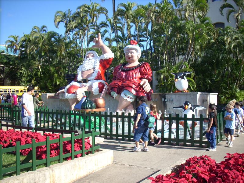 Santa and ms. claus